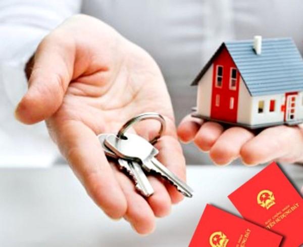 Thủ tục cấp giấy chứng nhận quyền sử dụng đất đối với nhà ở trong tương lai