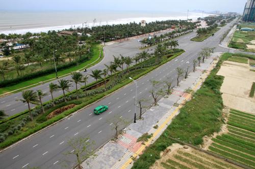 Giá đất mặt biển cao gấp đôi cùng kỳ tại Đà Nẵng