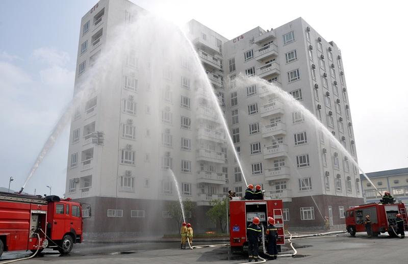 Thực trạng chung của hệ thống phòng cháy chữa cháy chung cư