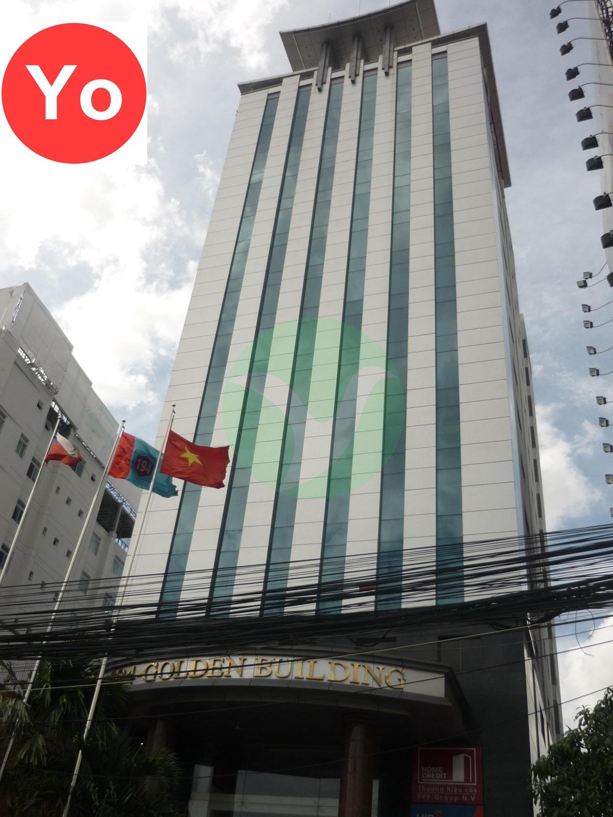 Cho thuê văn phòng quận bình thạnh – Tòa nhà 194 Golden Building