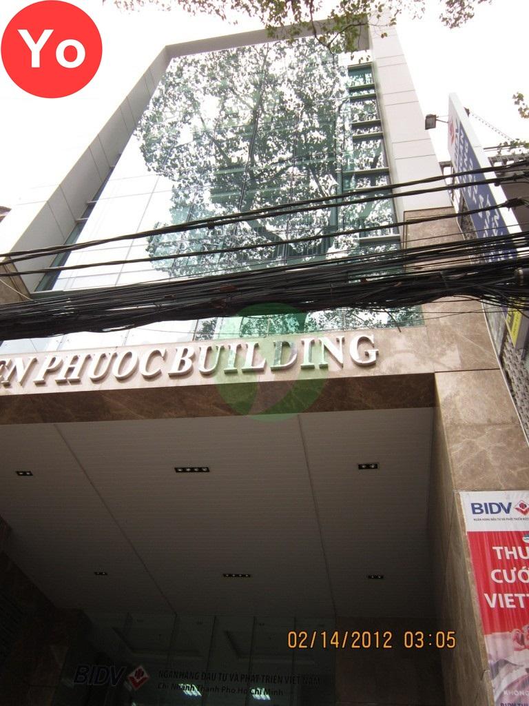 Tien Phuoc Building - Văn phòng giá rẻ ở Quận 5.