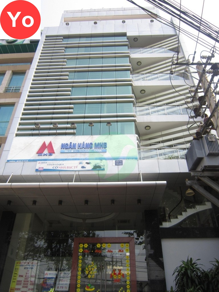 ĐN Building - Diện tích trống cho thuê văn phòng theo tháng.