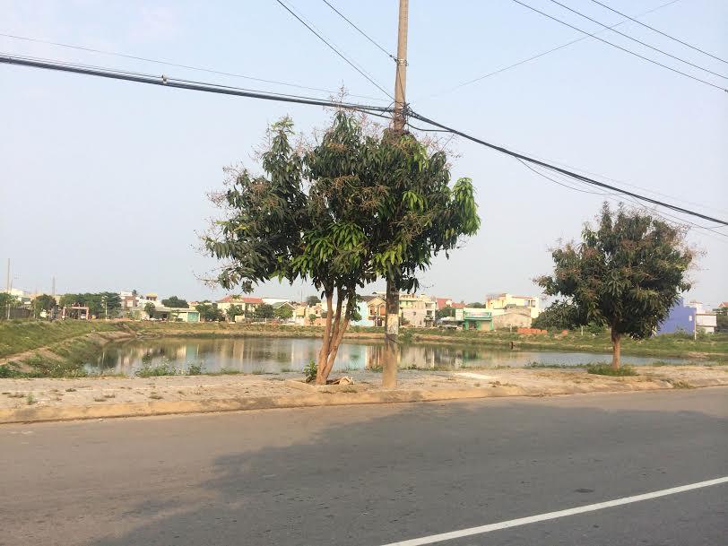 Đất Hồ Sỹ Dương gần ngã ba Lê Đại Hành và Nguyễn Hữu Thọ.