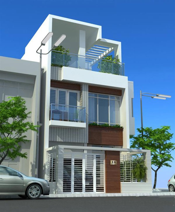 Cho thuê nhà đẹp, 2 mặt tiền khu trung tâm gần đường Bạch Đằng