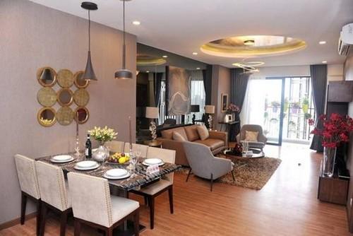 Bán chung cư CT36 Định công – Dreen Home, DT 59.8m2 – căn 16, giá 21tr/m2. View hồ.