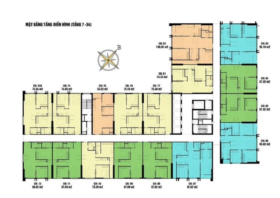 Bán gấp căn số 2508 tòa CT4 dự án Eco Green City Nguyễn Xiển. Chính chủ 09 34 542259