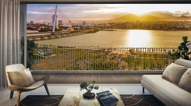 Duy nhất 1 căn hộ sân vườn tại Monarchy – Ngắm sông Hàn thơ mộng không nơi nào bằng