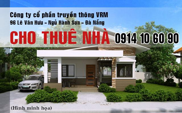 Cho thuê nhà MT quận Hải Châu phù hợp làm văn phòng