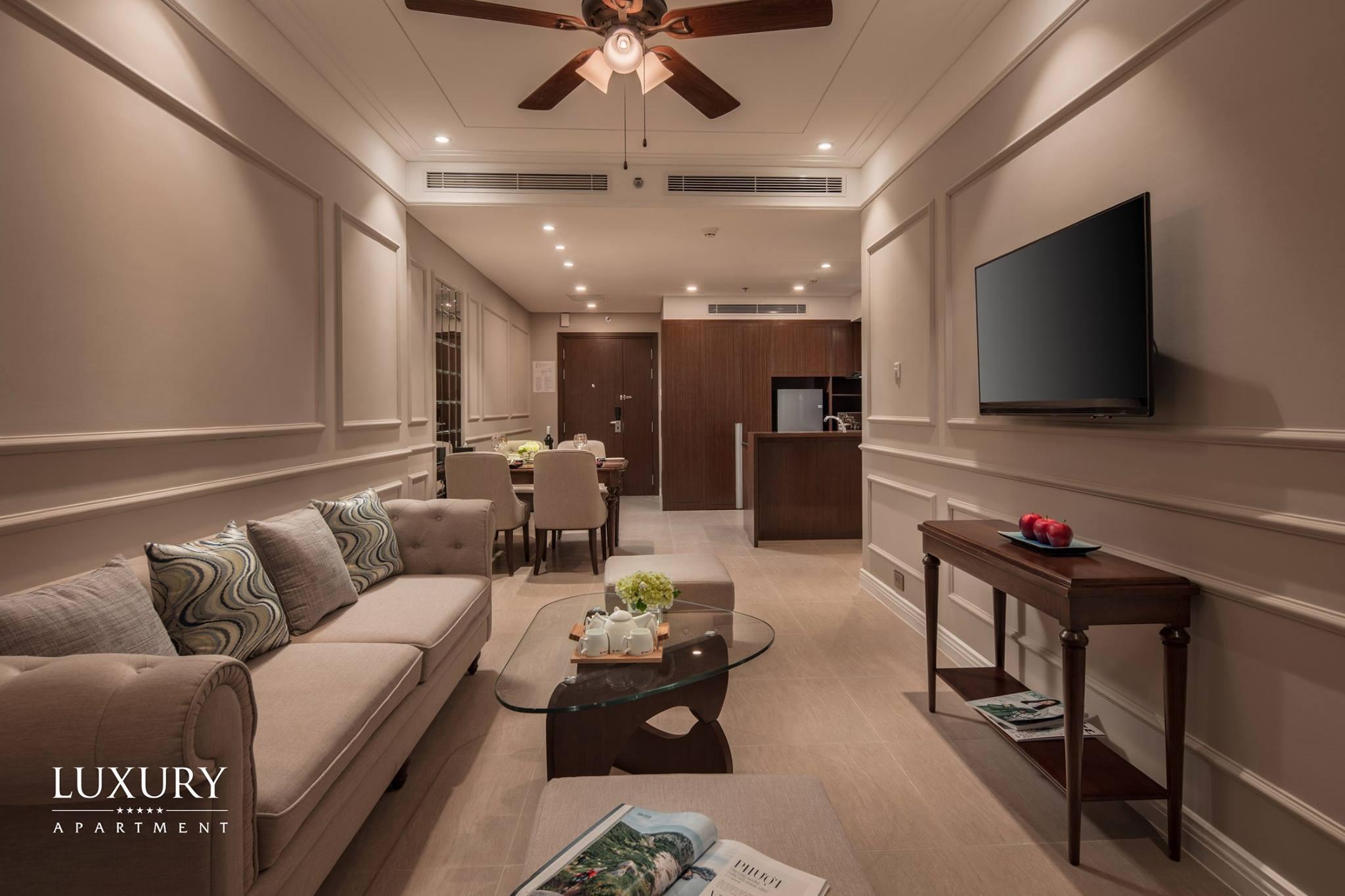 Đầu tư cho thuê hoặc ở hình thức sở hữu mãi mãi tại Luxury Alphanam