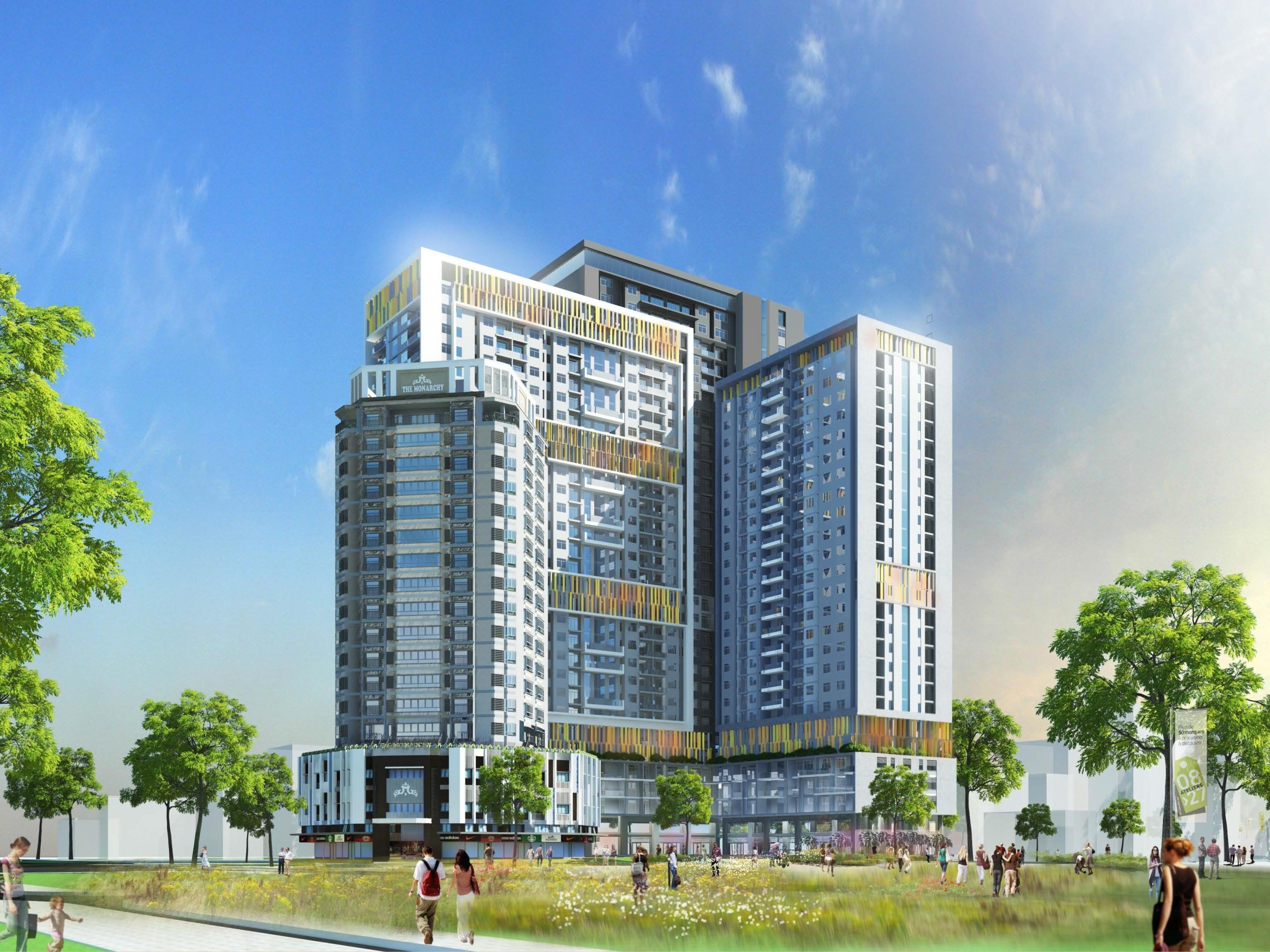 Mở bán đợt cuối căn hộ Monarchy tại Hà Nội ngày 31-3 nhận voucher lên đến 55 triệu
